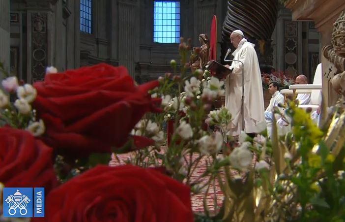 Messe du 1/01/2018 © Vatican Media