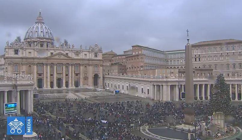 Angélus du 1/01/2018 © Vatican Media