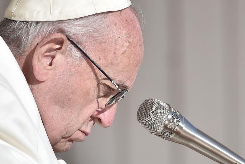 Grave, triste, Audience générale du 24/01/2018 © Vatican Media