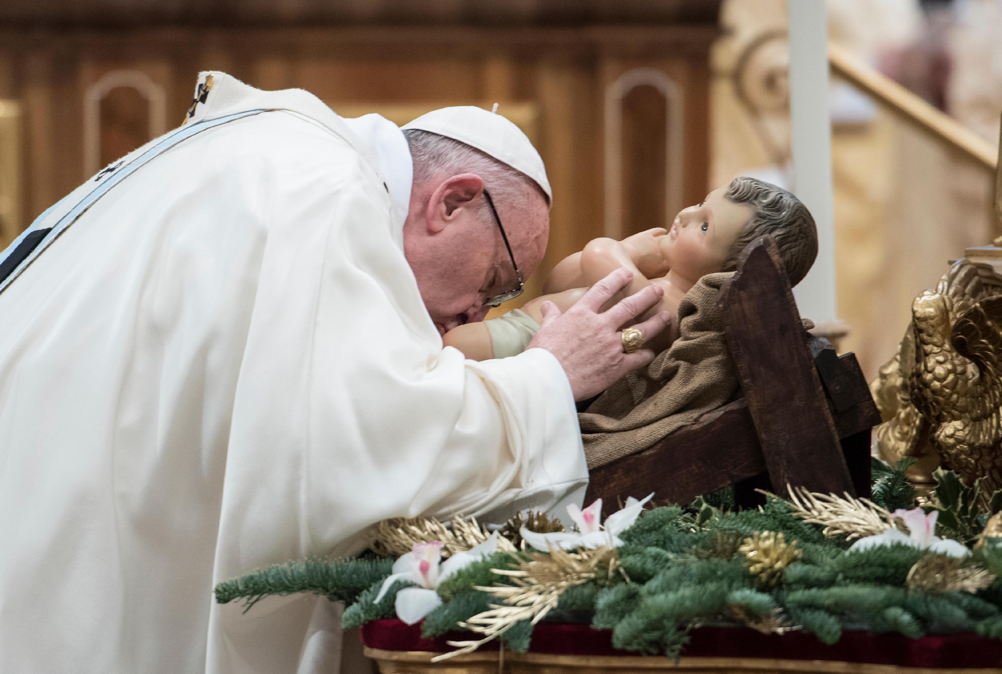 Messe de ste Marie Mère de Dieu, 1/01/2018 © L'Osservatore Romano