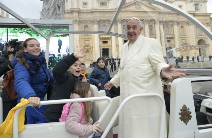 Audience du 31janvier2018 © Vatican Media