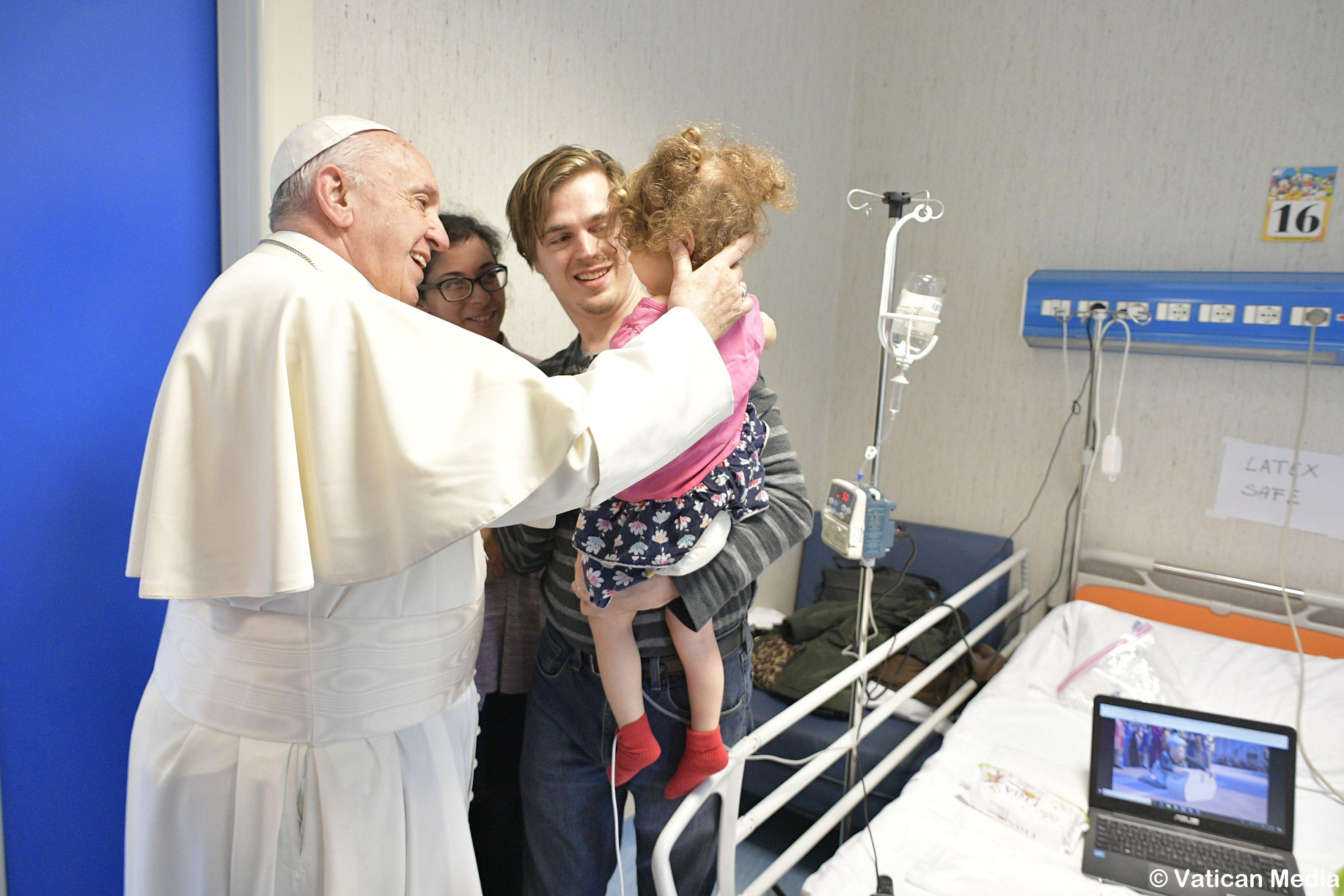 Bambino Gesu de Palidoro © Vatican News