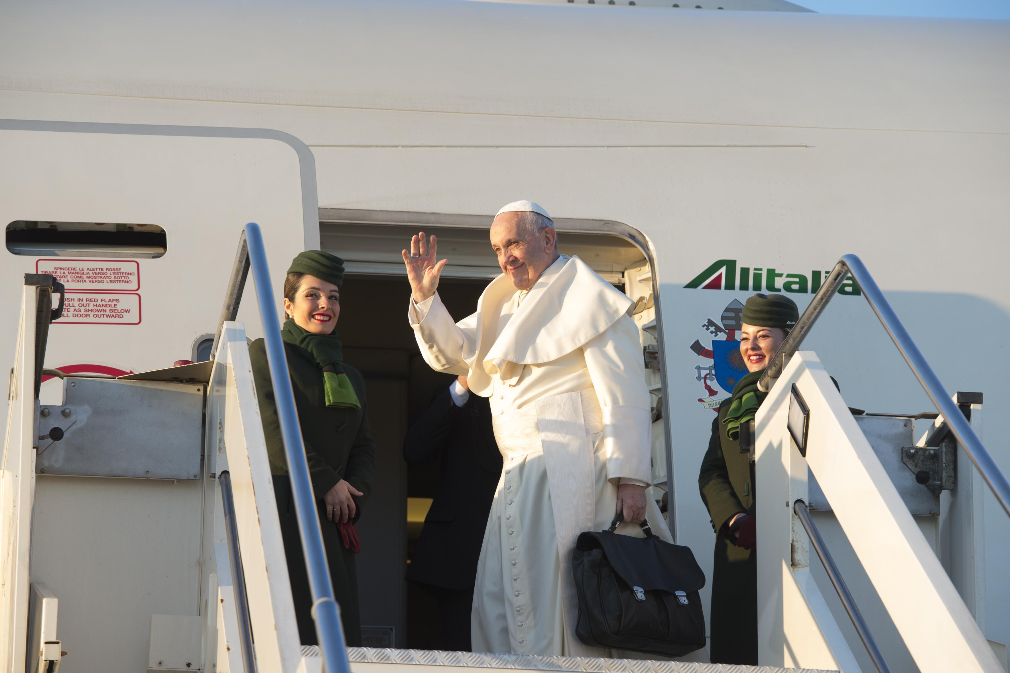 Voyage vers le Chili © Vatican Media