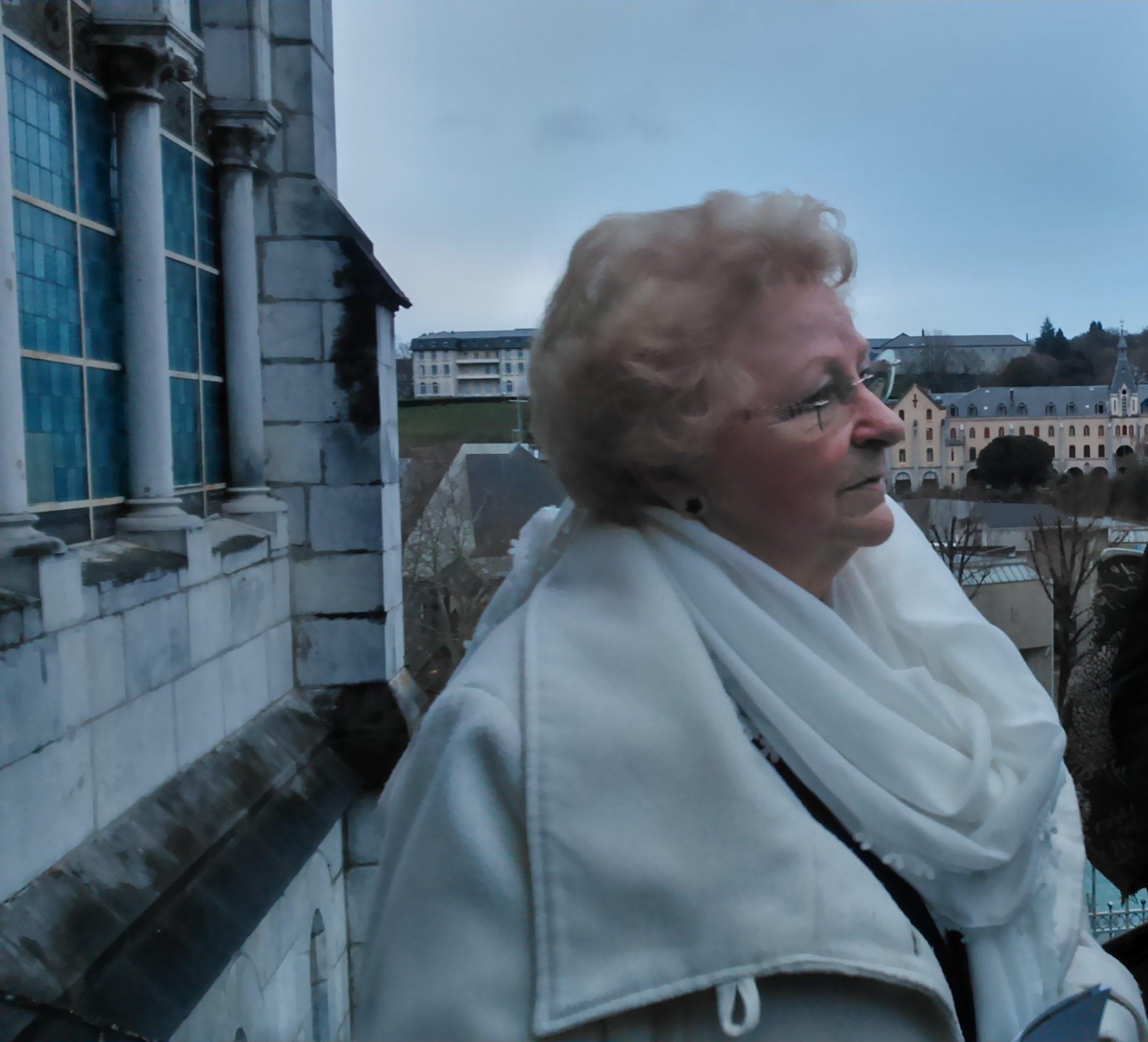 Roseline Hamel à Lourdes © Anita Sanchez
