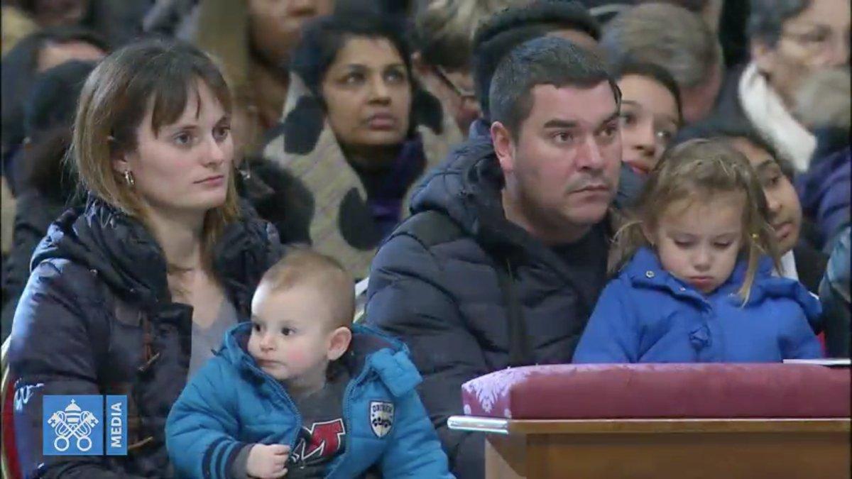 Messe pour la Journée mondiale du migrant et du réfugié @Vatican Media