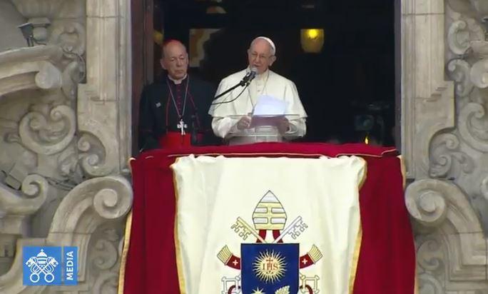 Angélus, Lima, Pérou, capture Vatican Media