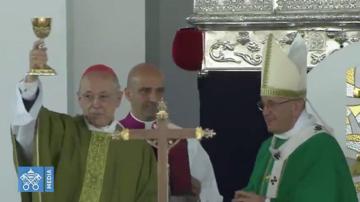 Messe à Las Palmas (Lima, Pérou) @ capture Vatican Media