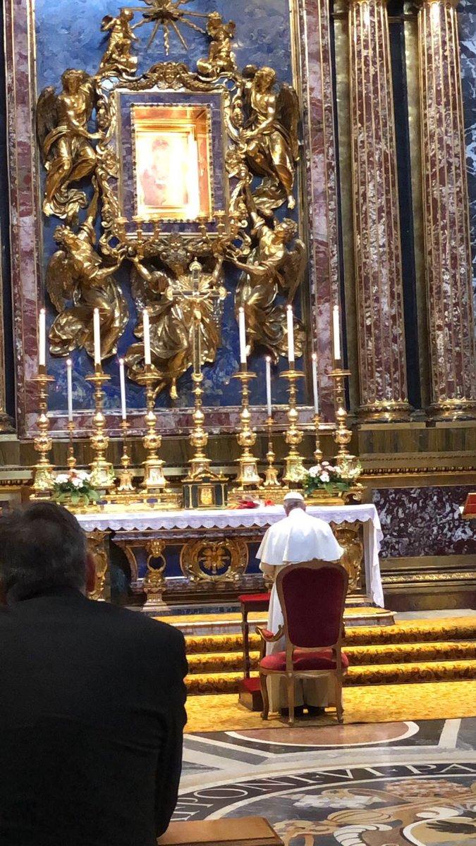 Pèlerinage à Sainte-Marie-Majeure @GregBurkeRome