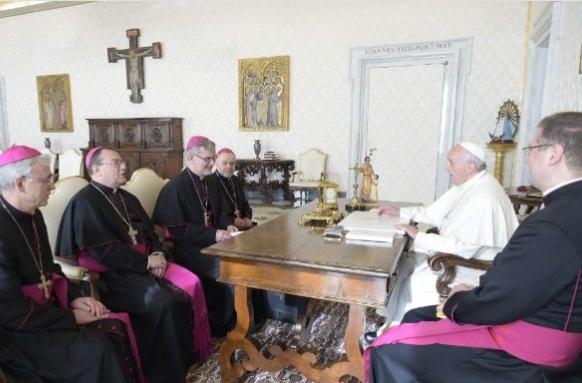 Evêques de Russie en visite ad limina © Vatican Media