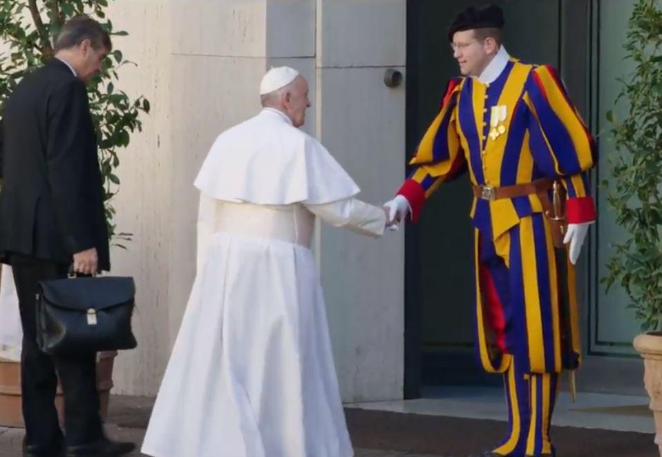 Garde suisse pontificale © Vatican Media