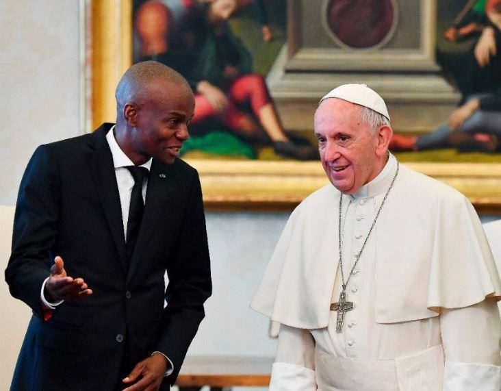 Président Moïse, Haïti, 28 janvier 2018 © Vatican News