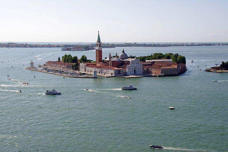 Ile de San Giorgio, Venise (Italie) @wikimedia commons, Jakub Hałun