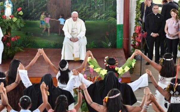 Foyer le Petit Prince, Puerto Maldonado, Pérou © Vatican Media