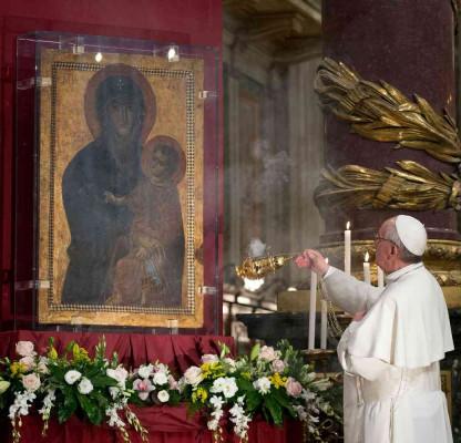 Icône de Marie, Salus Populi Romani @ Vatican Media