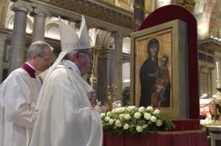 Marie, Salut du Peuple Romain 28/01/2018 © Vatican Media