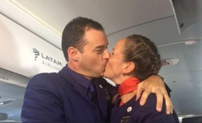 Couple chilien mariés par le pape © Vatican Media