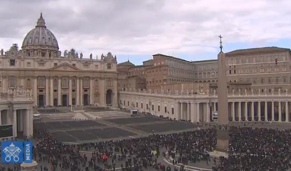 Angélus du 25/02/2018 © Vatican Media