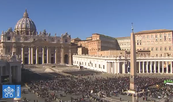 Angélus du 04/02/2018, capture Vatican Media