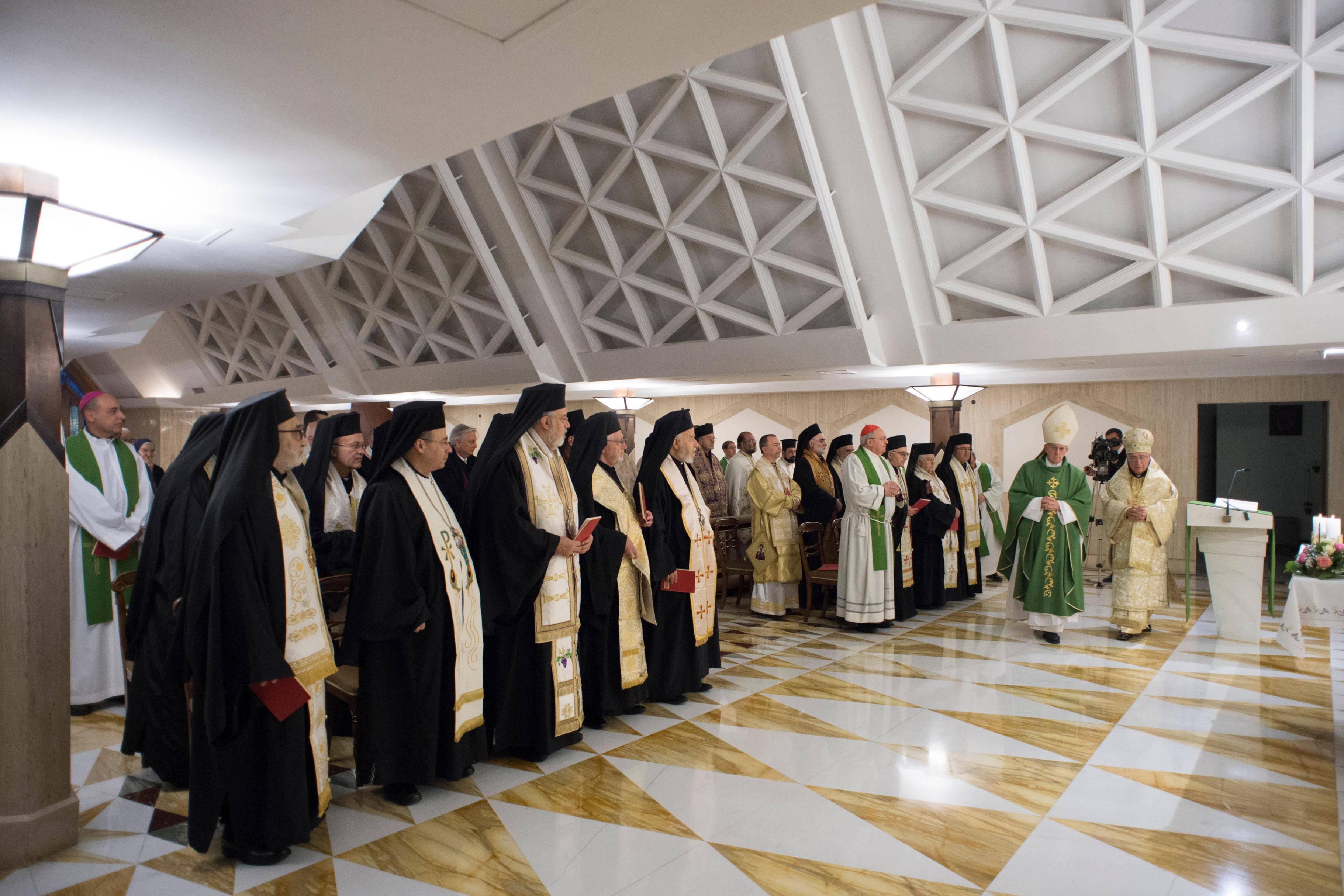 Sainte-Marthe 13/02/2018 © Vatican Media