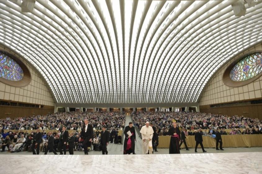 Audience générale du 28/02/2018 © Vatican Media