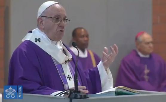 Paroisse San Gelasio I Papa, capture Vatican Media