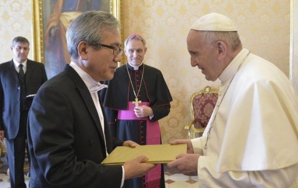 Ambassadeur de Corée © Vatican Media