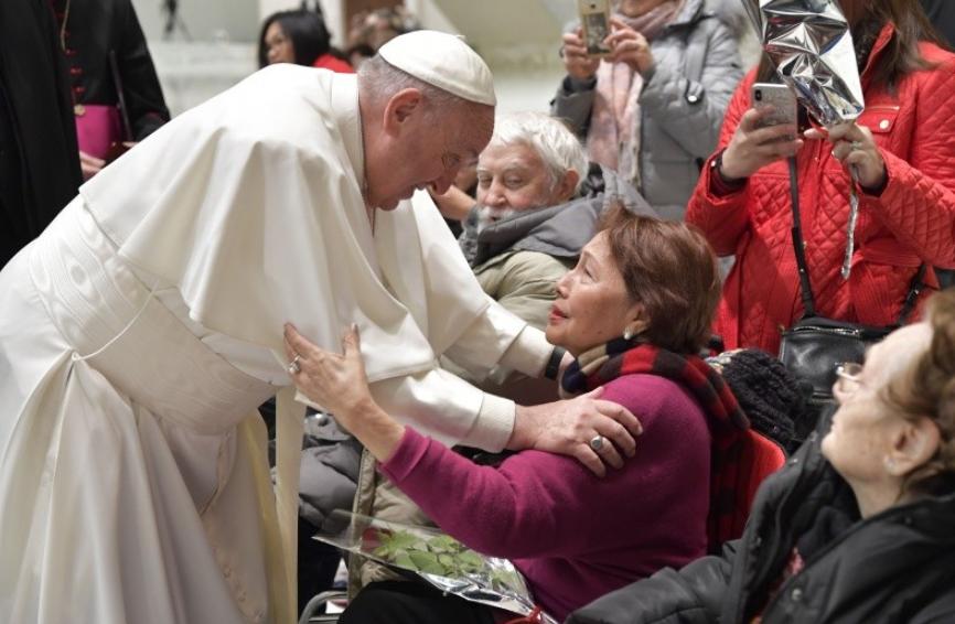 Audience générale du 14 fév. 2018 © Vatican Media