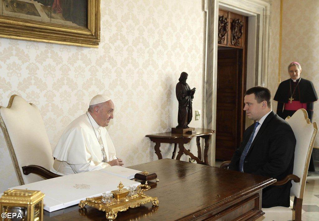 Visite du Premier ministre d'Estonie, Ratas © valitsus.ee