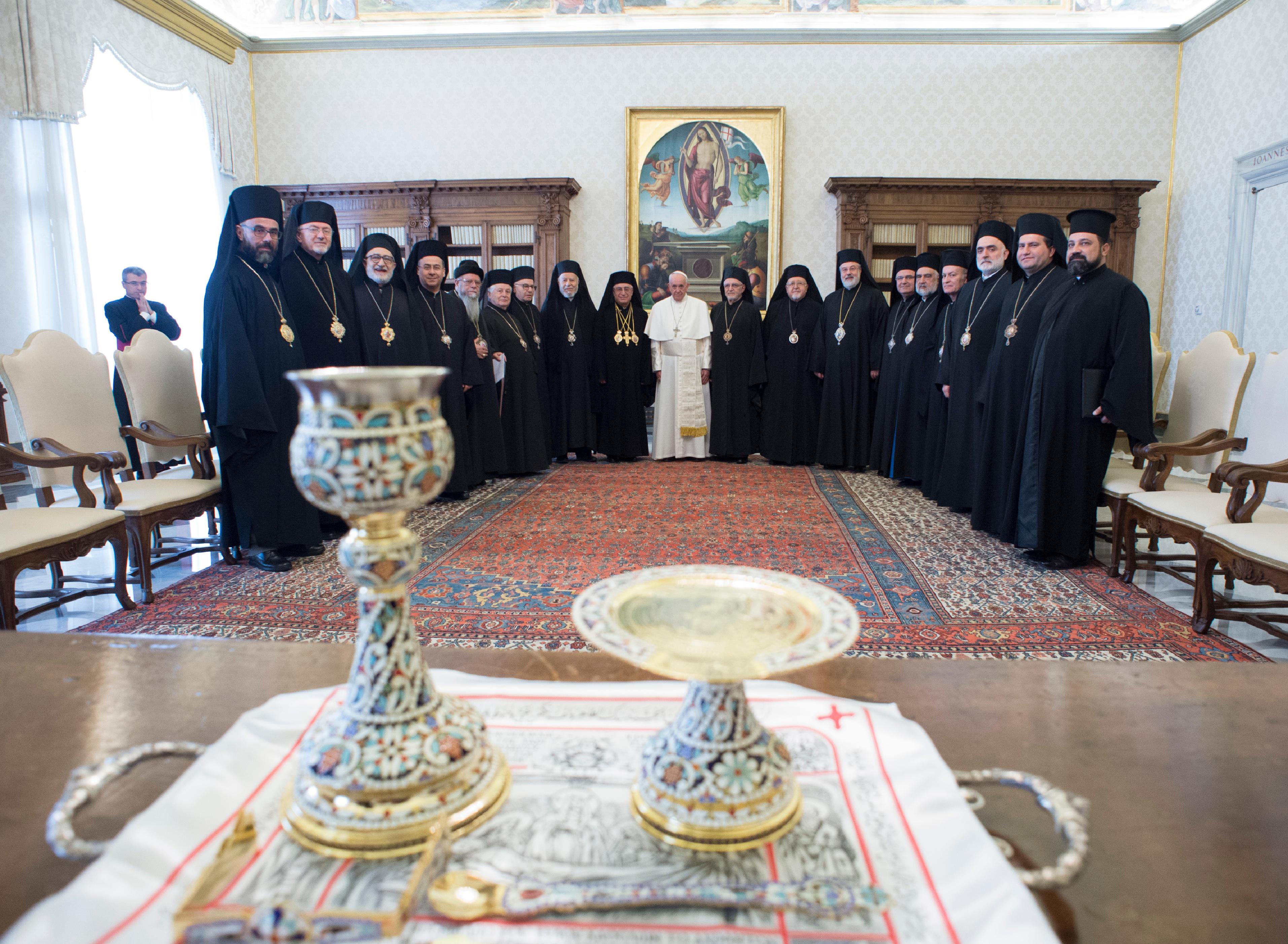 Synode grec-melkite © Vatican Media