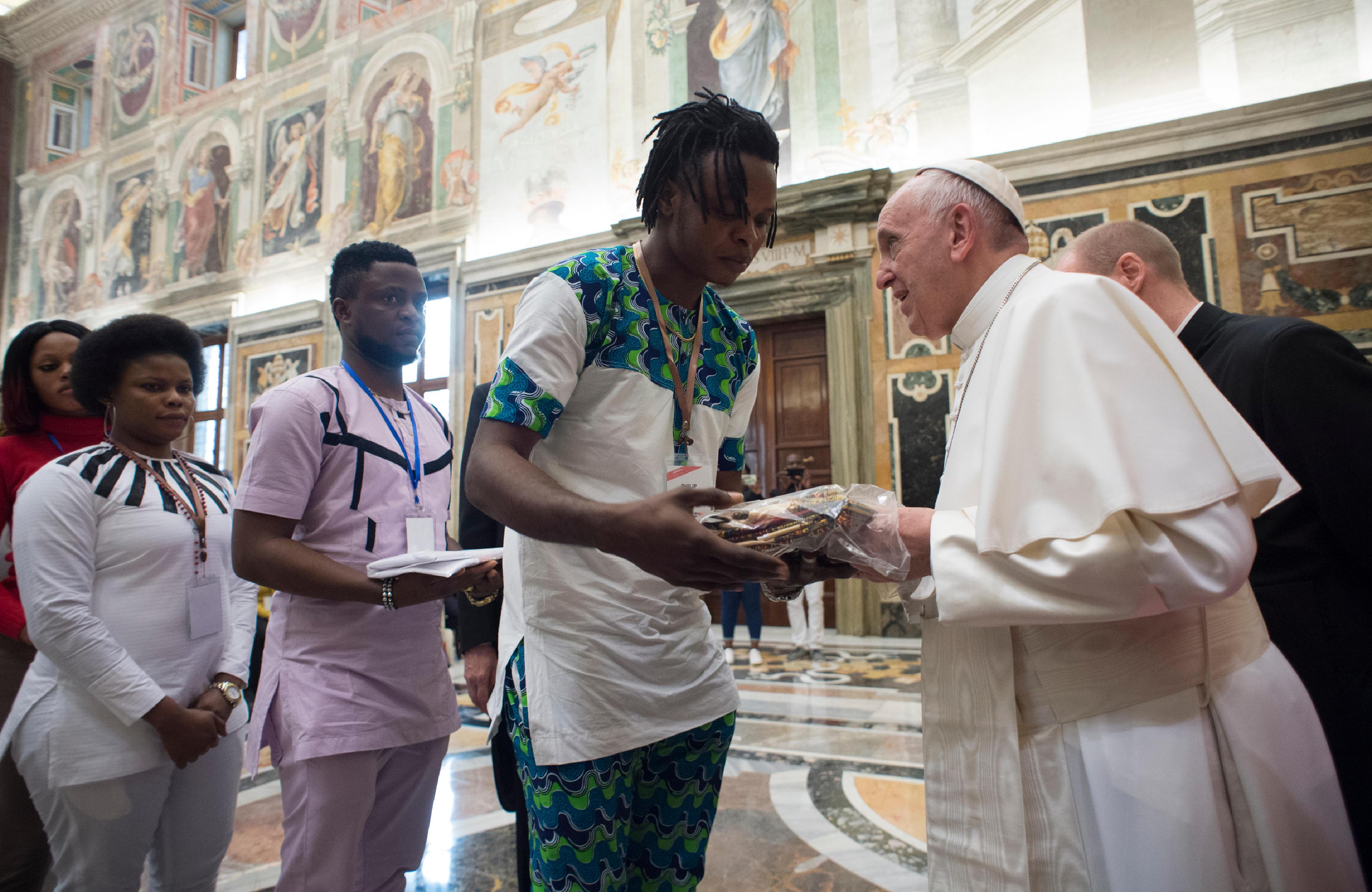 Journée contre la traite, le trafic © Vatican Media
