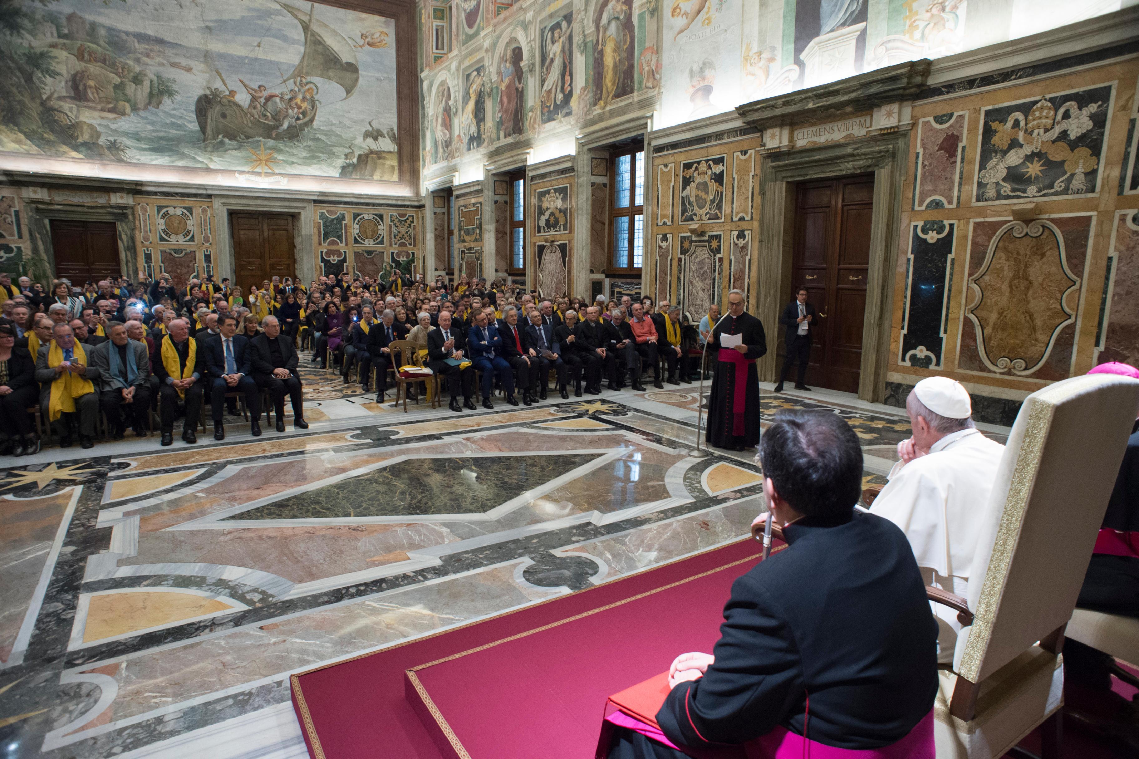Conseil nationale anti-usure © Vatican Media