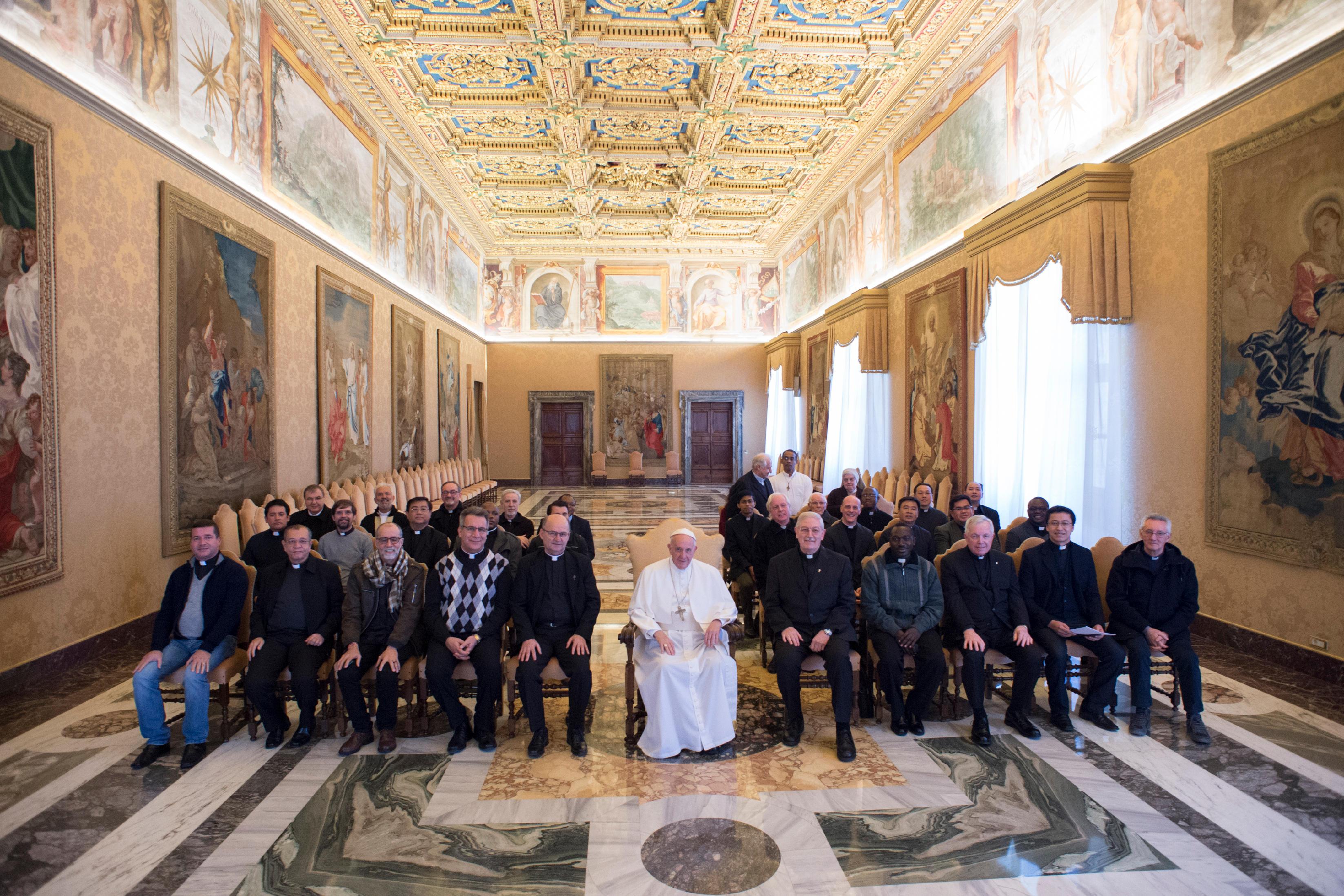 Stigmatins © Vatican Media