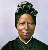 Sainte Joséphine Bakhita @ wikipedia