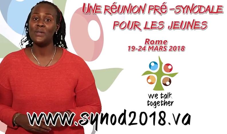 Synode des jeunes, capture Youtube Synod2018