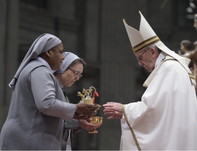 Messe de la Présentation du Seigneur, vie consacrée © Vatican Media