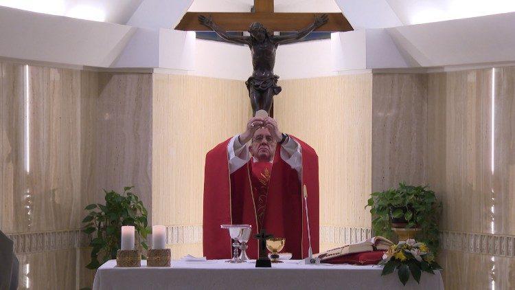 Messe à Sainte-Marthe © Vatican Media