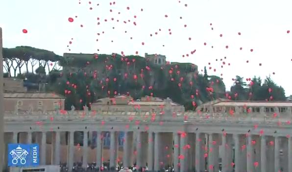 Angélus du 11 mars 2018, capture Vatican Media