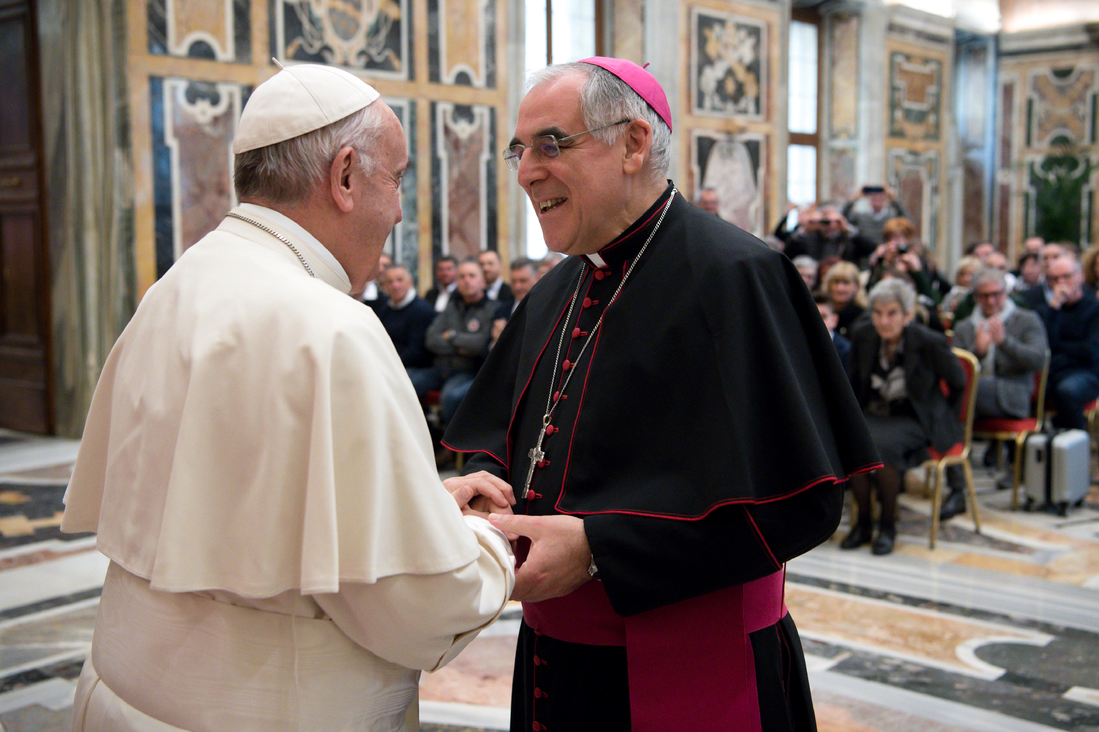 Mgr Lauro Tisi (Trente) © Vatican Media