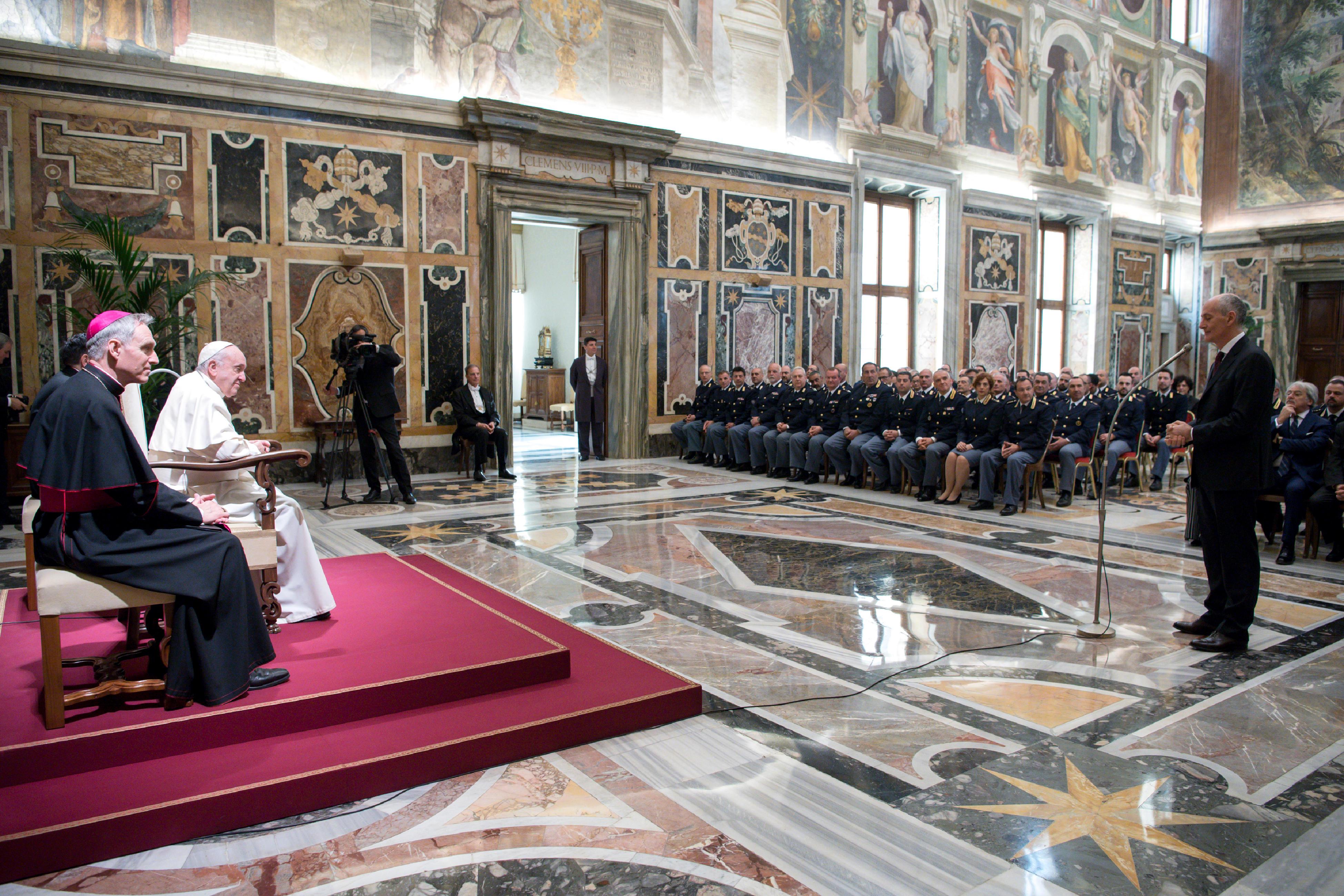 Inspectorat de sécurité publique italien auprès du Vatican © Vatican Media