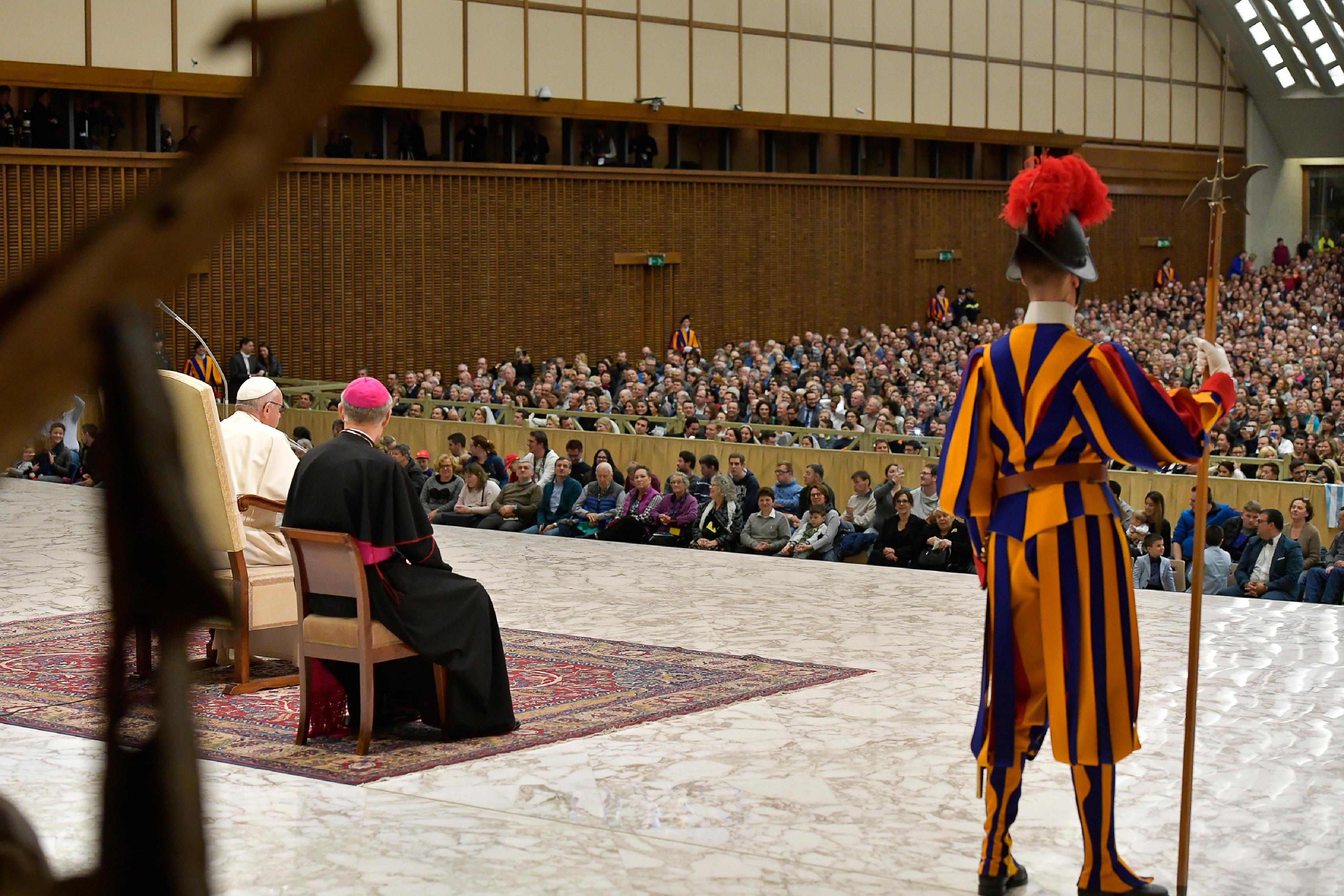 Audience générale du 7/03/2018 © Vatican Media