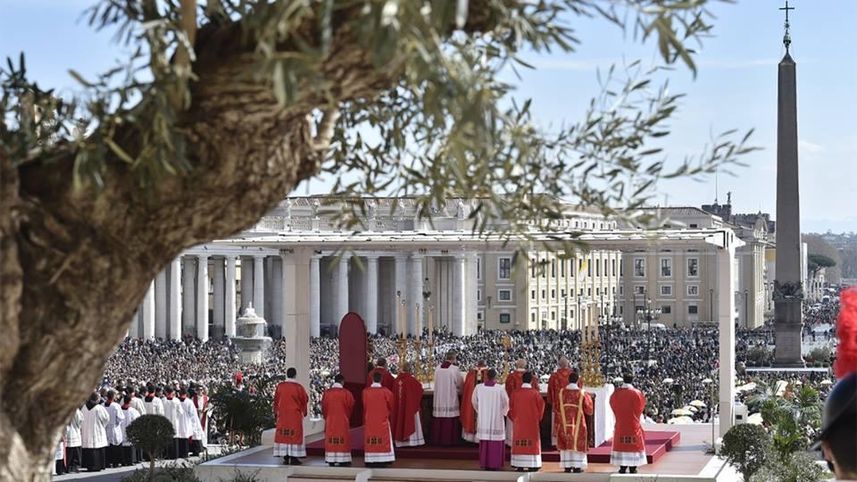 Messe des Rameaux, Journée mondiale de la jeunesse 2018 © Vatican Media