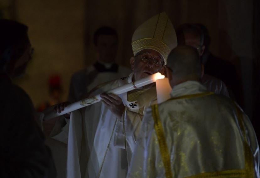 Veillée pascale à Saint-Pierre © Vatican Media