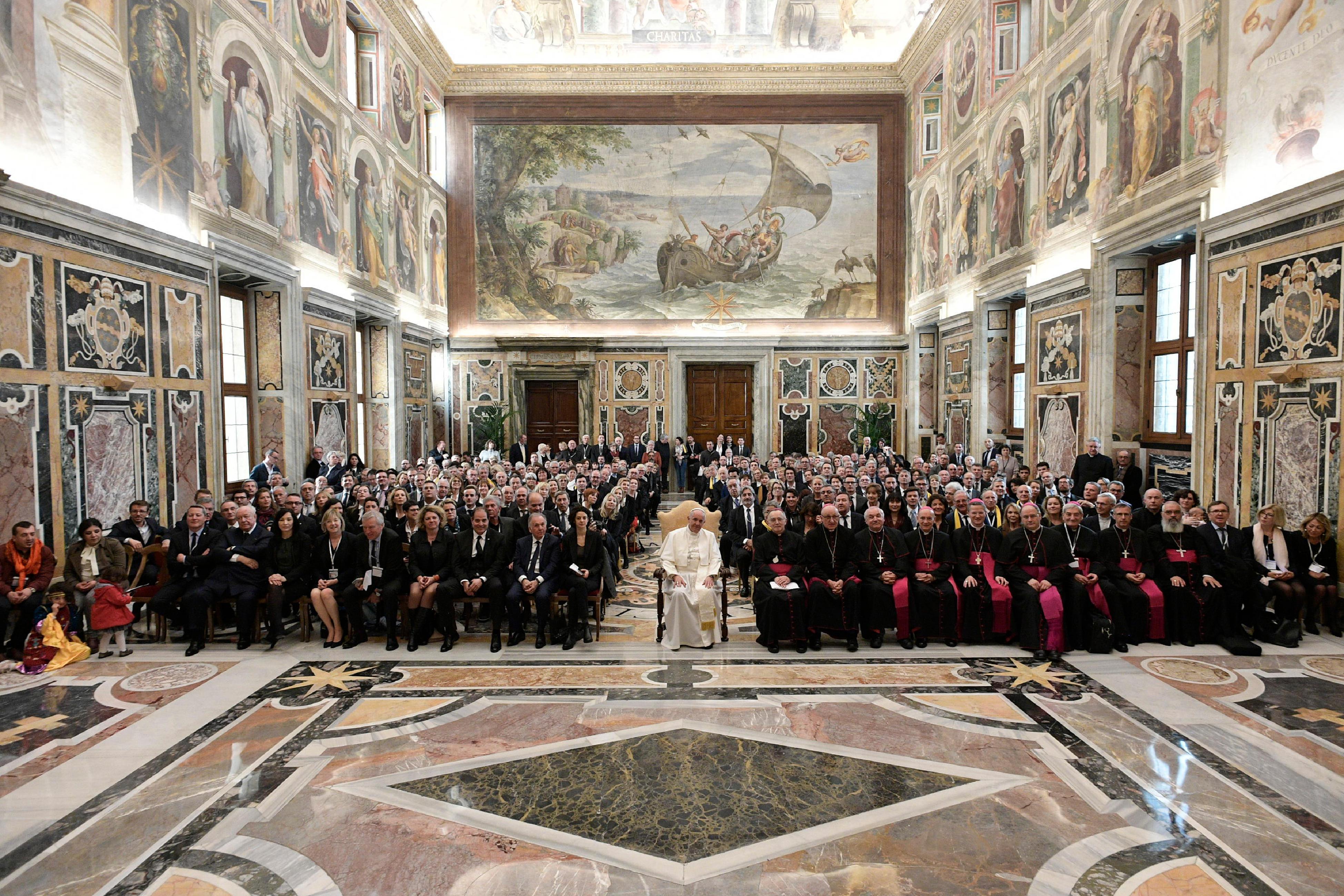 Elus de France © Vatican Media