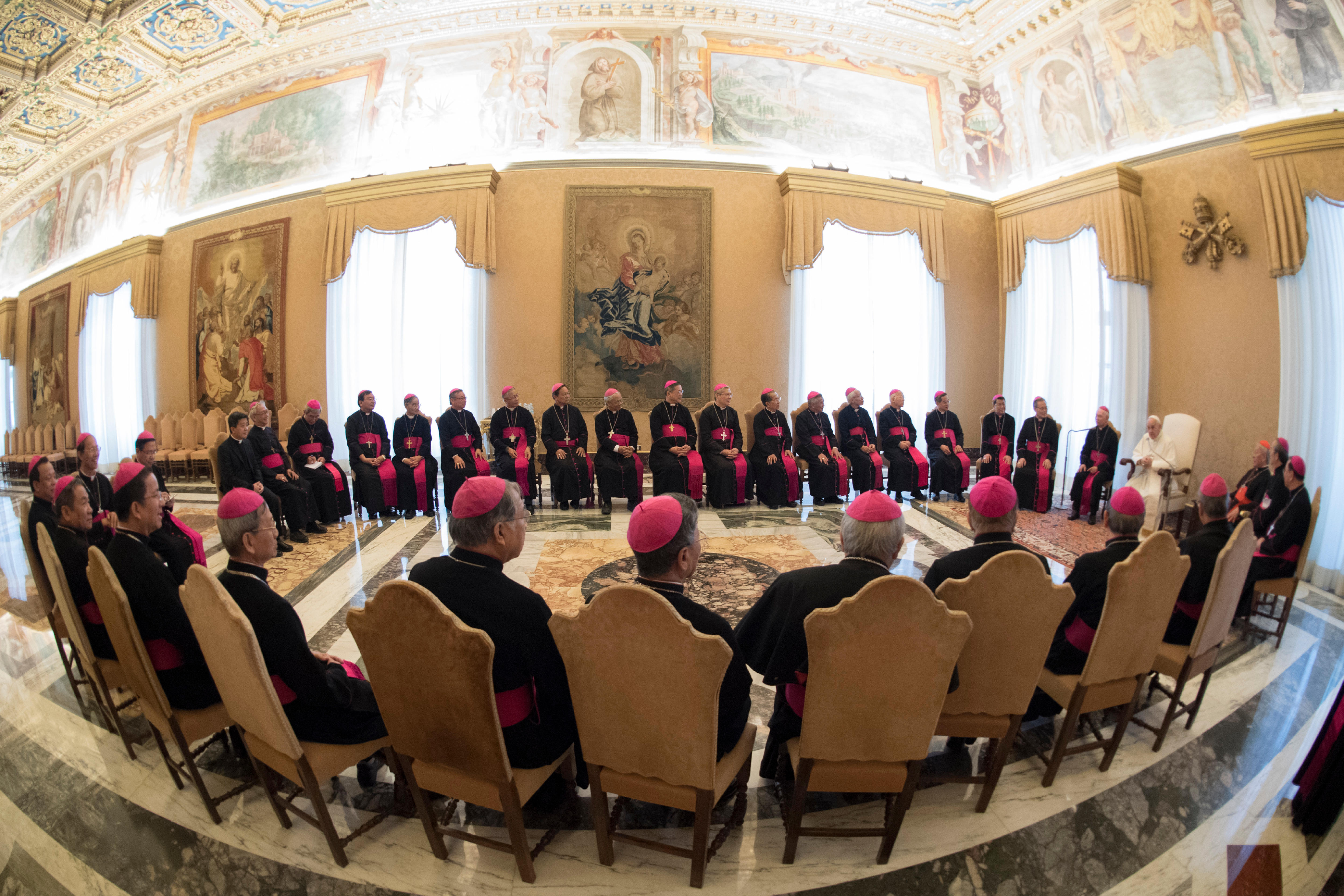 Evêques du Vietnam en ad limina © Vatican Media