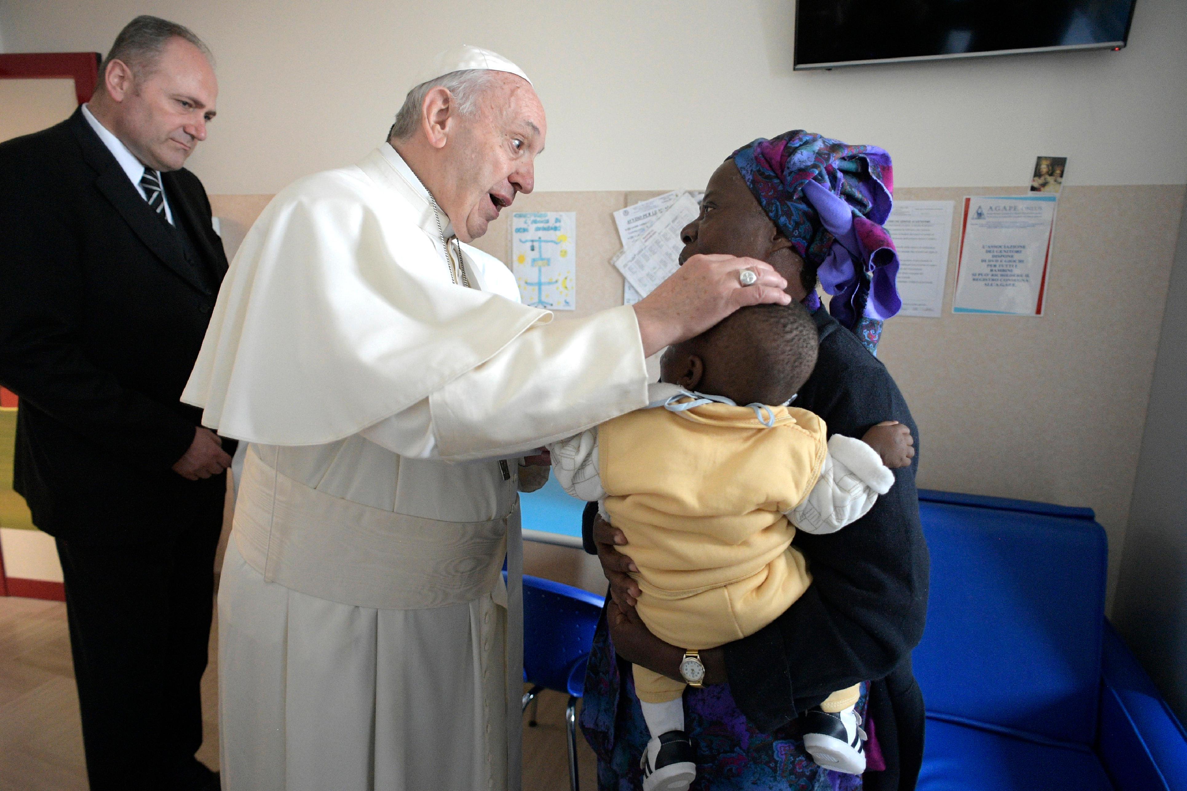 Maison du soulagement de la souffrance, San Giovanni Rotondo © Vatican Media