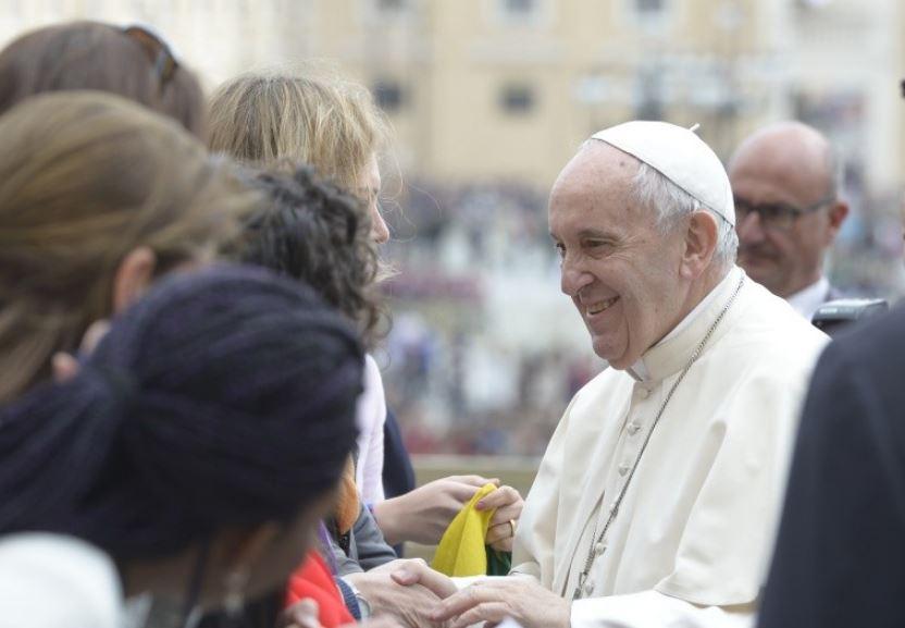 Audience générale 28/03/2018 © Vatican Media