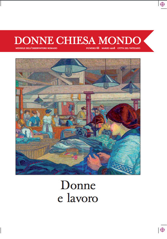 """Donne Chiesa Mondo"" du 1er mars 2018 @ L'Osservatore Romano"