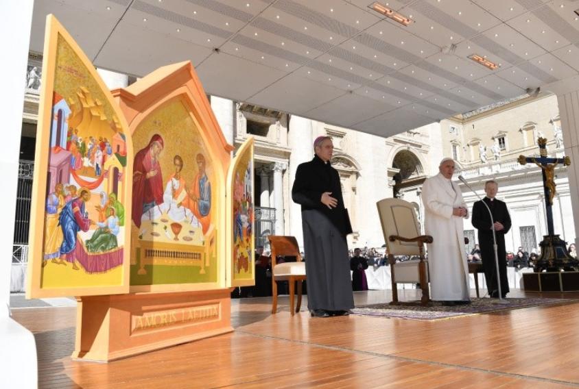 Icône de la Sainte Famille pour la Rencontre de Dublin © Vatican Media
