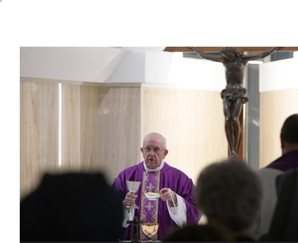 Messe à Sainte Marthe © Vatican Media