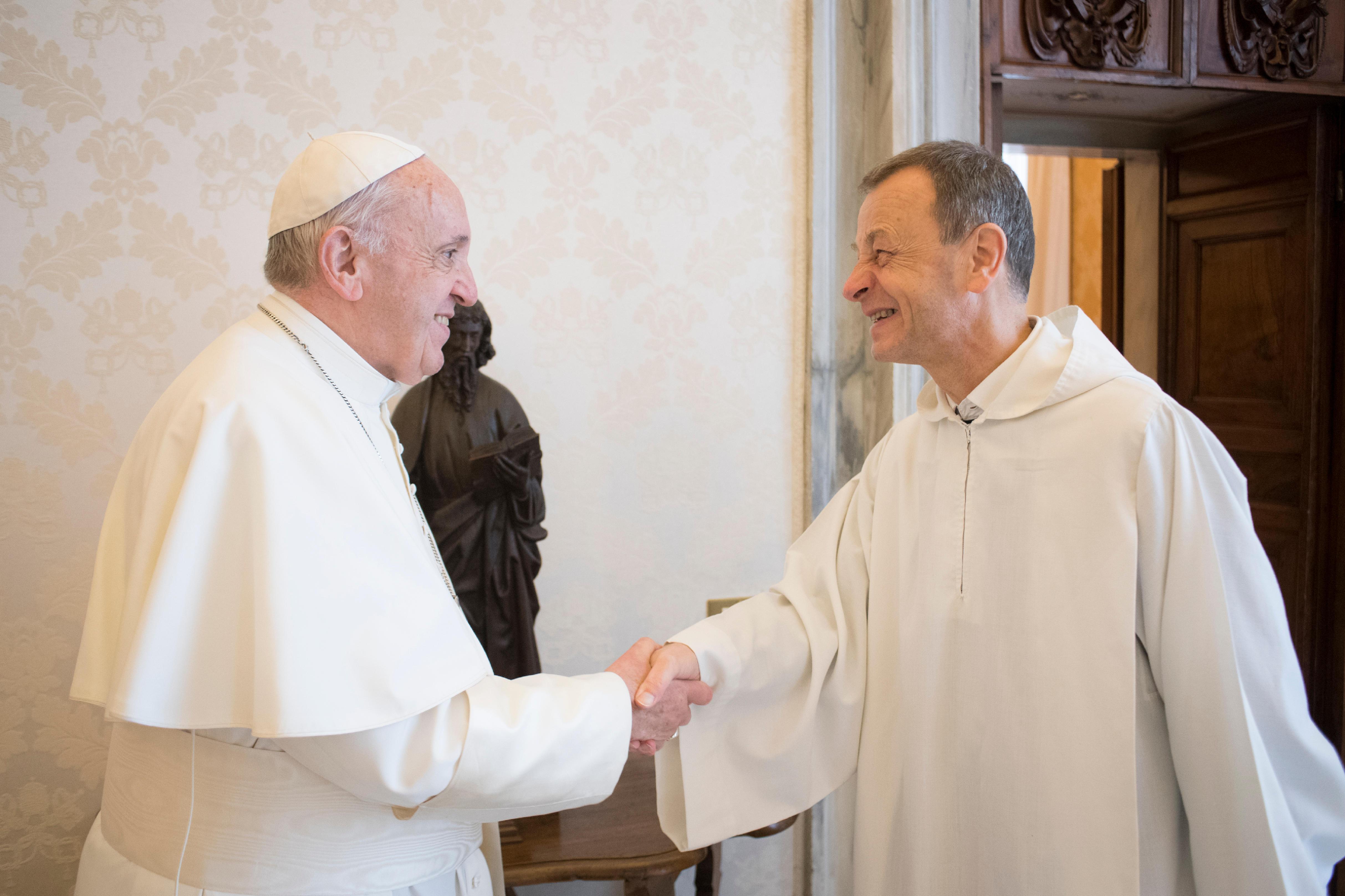 Frère Alois, Taizé © Vatican Media (Archives)